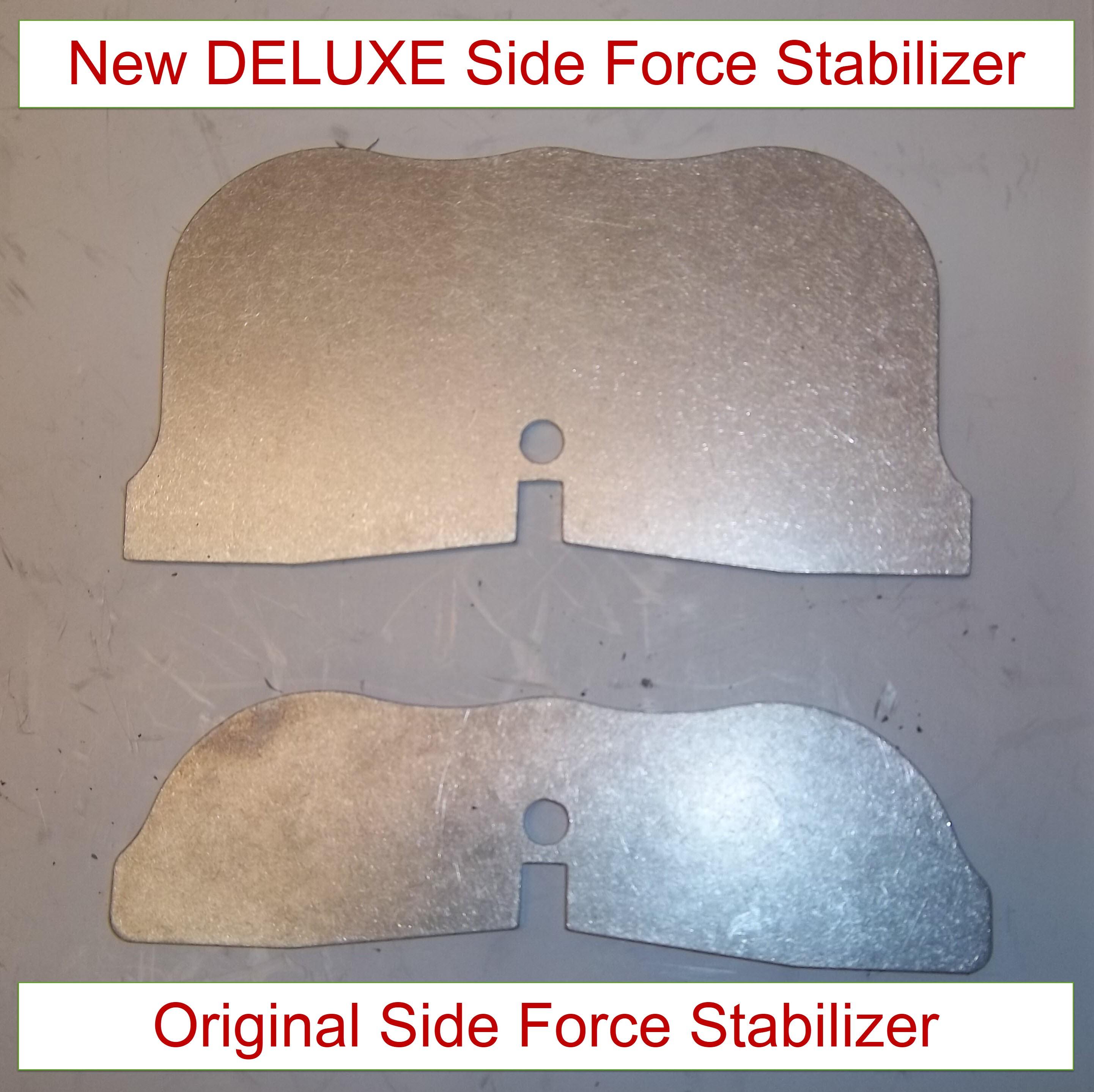 Ultimate AK-19 Side Force Stabilizer - Deluxe vs Original
