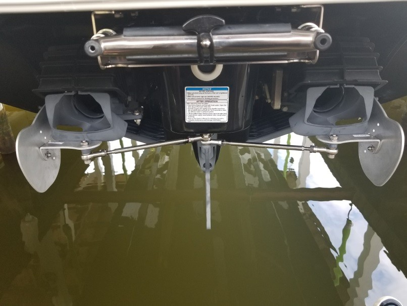 Super Magnum AK-19 system on a customer's 2019 24 foot Yamaha jet boat